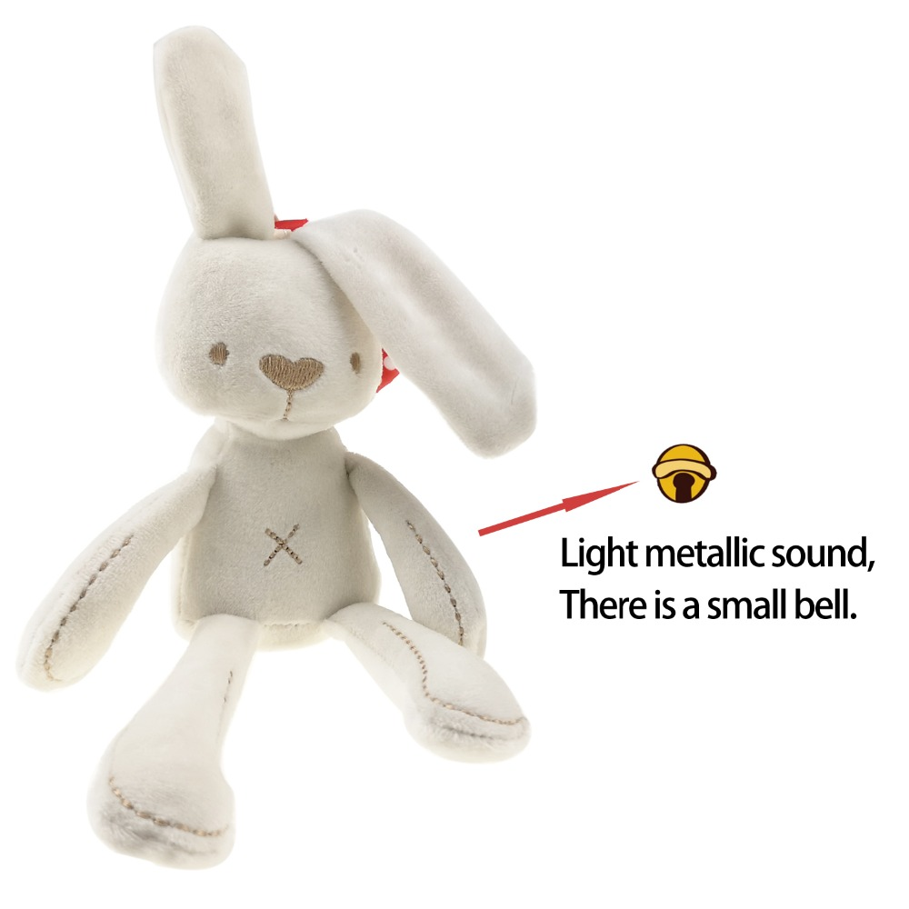 Plush Animal Baby Toys For Infants Cute Rabbit Doll Baby Soft Plush Toys For Children Bunny Sleeping Mate Stuffed