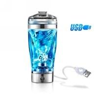 USB Auto Electric Detachable Shaker Protein Vortex Blender Bottle 600ml