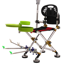 Chair Fishing Stool Ultralight Home-Furniture Garden Portable Camping Silla