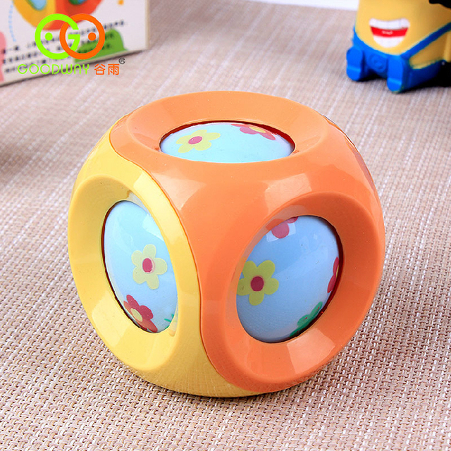 ABS Plastic Kids Tinkle Bell Ball Jingle Ball Rattles Rolling Ball Baby Toys Grasp and Climb toys for Newborns Children Toddler