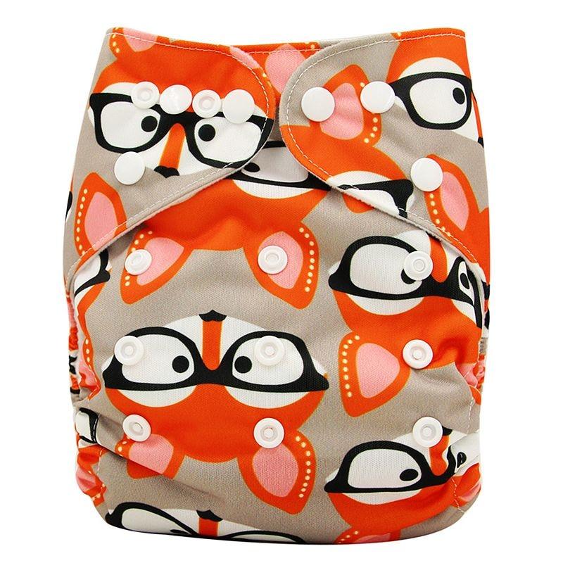 Ohbabyka, детские тканевые подгузники, многоразовые подгузники, унисекс, детские штаны для ухода за ребенком, водонепроницаемые тканевые подгузники с карманами, детские подарки для душа - Цвет: OB133
