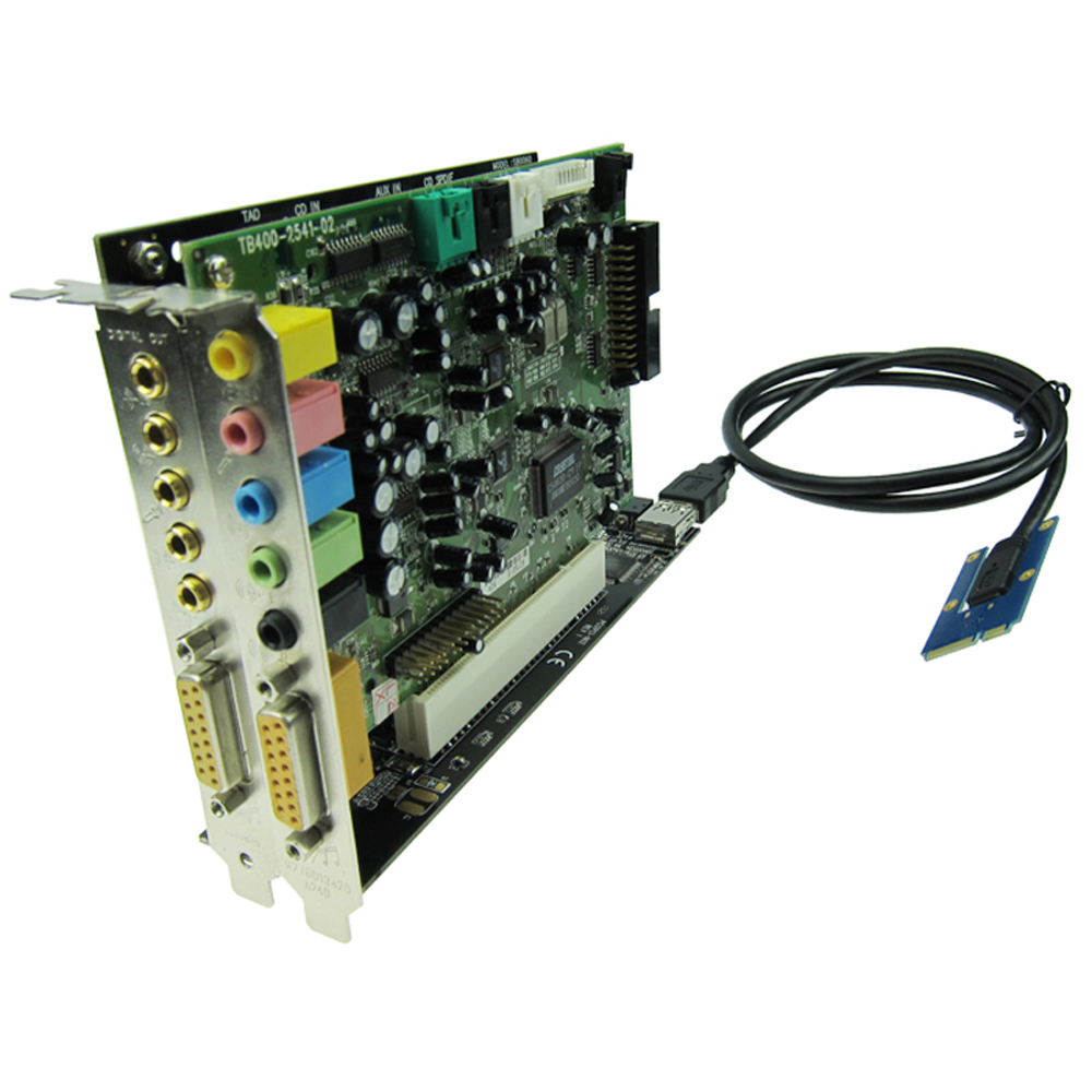 Half-size-Full-size-Mini-PCIe-To-2-PCI-32bit-slots-adapter-mini-pci-e-riser