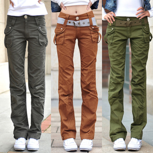 Online Get Cheap Womens Khaki Cargo Pants -Aliexpress.com ...