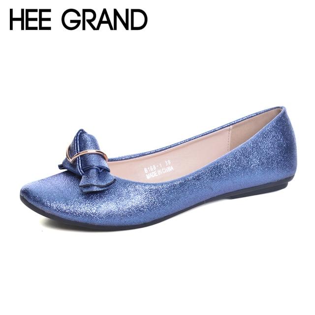 New Loafers Casual Platform Shoes Woman Bowtie Ballet Flats Slip On Comfort Fashion Women Shoes Size 35-41
