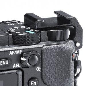 Image 2 - UURig R011 Mikrofon Kalten Schuh Montieren Rig Mic Adapter Vlog Kamera Externe Halterung Halter Für SONY A6400 DSLR Kamera Zubehör