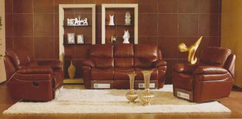 JIXINGE Ultra Strong, Recliner Sofa, Genuine Leather Recliner Sofa, - Կահույք - Լուսանկար 5