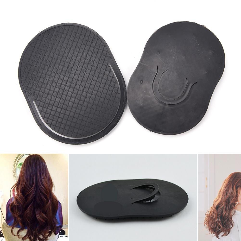 Fingers Small Round Comb Plastic Pro Salon Barber Hairdressing Shampoo Brush Reduce Hair Loss Hair Care Tool Black