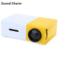 Sound Charm YG300 Mini LED Video Portable Home Protector With HDMI USB Audio TF Card Ports