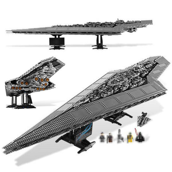 Star Bricks Wars 05028 Imperial Executor Super Star Destroyer Model building Blocks Toys for Kid Boy Gift Compatible 10221 1300 centigrade dual flame butane gas lighter silver