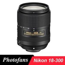 Nikon 18-300 lente Nikkor AF-S DX 18-300mm f/3.5-6.3G ED VR lentes para D3400 D3200 D3300 D5500 D7200 D7100 D5200 D5300 D5600 D500