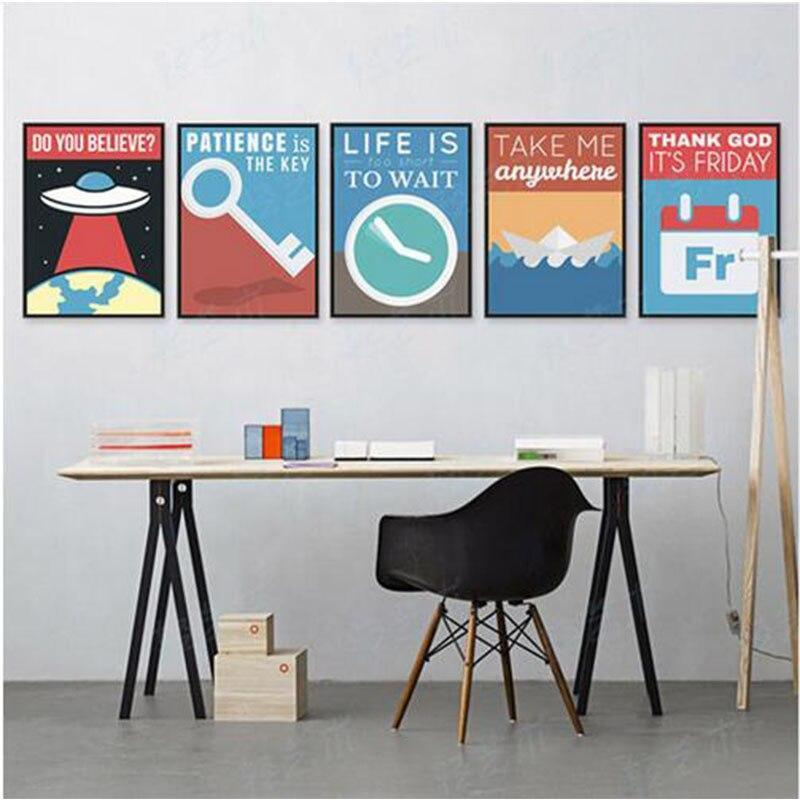 Moderno E Minimalista Motivazionale Tipografia Vita