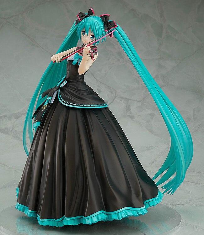 Figurine Anime 23 CM Hatsune Miku symphonie Ver. violon Miku 1/8 figurine d'action PVC à collectionner modèle jouets poupée cadeau