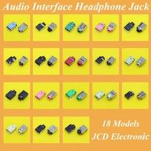 18 modelle, Laptop Audio Interface Mikrofon Stecker Audio Jack Buchse Für Acer Asus Lenovo HP Dell Toshiba Samsung Sony