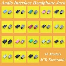 18 modelli, Laptop Interfaccia Audio Microfono Connettore Audio Jack Socket Per Acer Asus Lenovo HP Dell Toshiba Samsung Sony