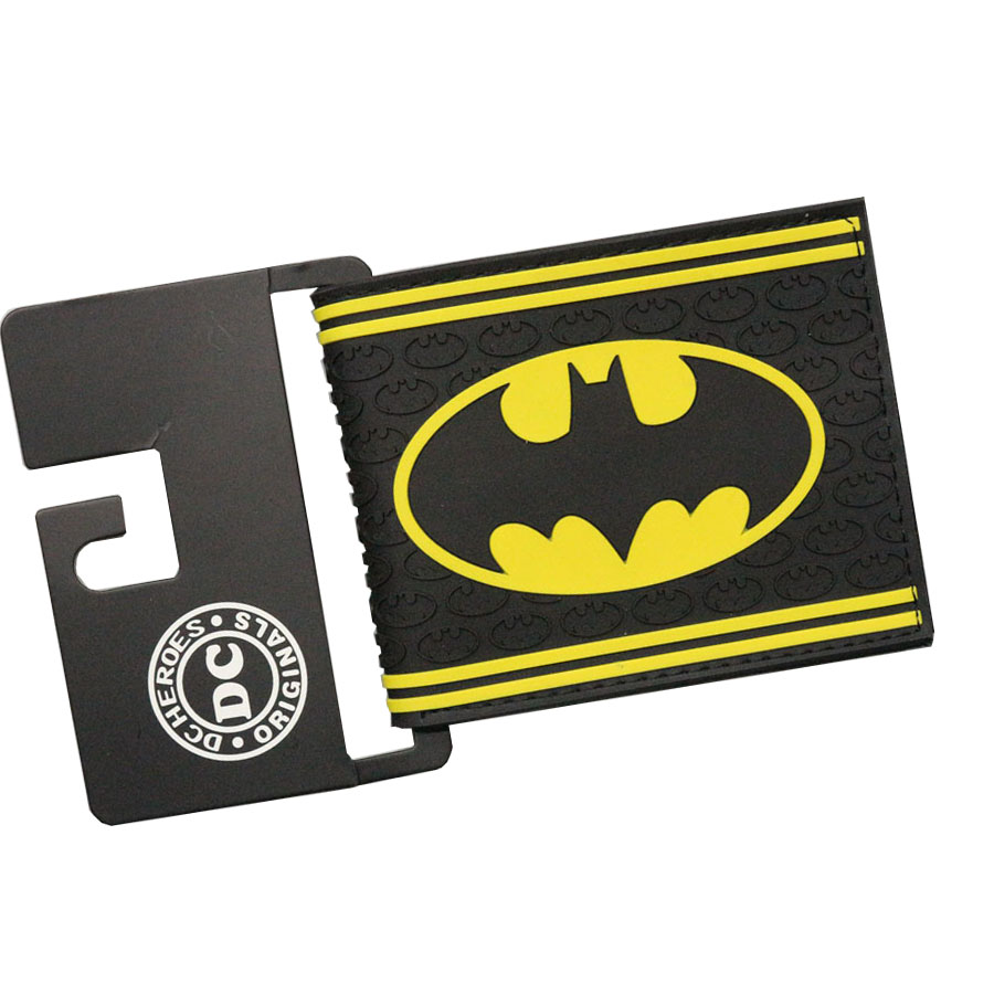 Bat Man Comic Wallets Men purse Women Bifold Boy Birthday Gifts  leather Embossed wallets Money Photos ID Card Holder Bolso dc movie hero bat man anime men wallets dollar price short feminino coin purse money photo balsos card holder for boy girl gift