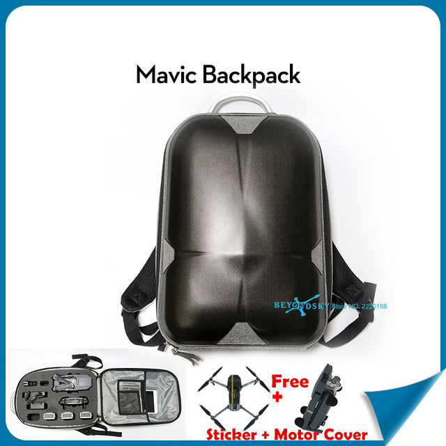 DJI Mavic Водонепроницаемый HardShell Рюкзак Случае Mavic мешок Mavic стикер Зарядное устройство аксессуары для хранения сумки для DJI Mavic Pro