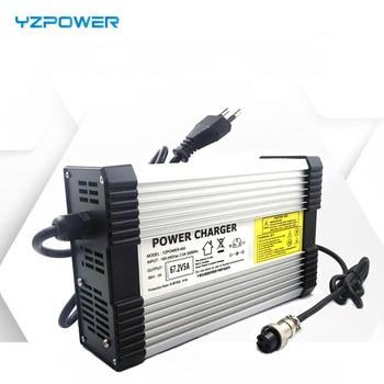YZPOWER 58.8 V 6A 7A 8A 48 V ليثيوم شاحن بطارية ل 48 V ليثيوم البطارية الكهربائية دراجة نارية Ebikes