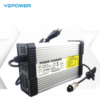 YZPOWER 58.8V 6A 7A 8A 48V Lithium Battery Charger for 48V Lithium Battery Electric Motorcycle Ebikes