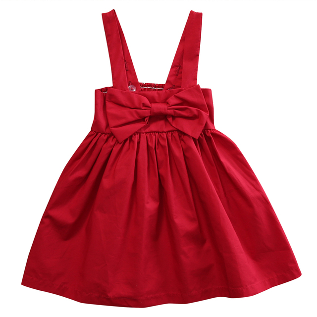 new baby christmas dresses for girls newborn infant baby girl kid red sundress bowknot short dress