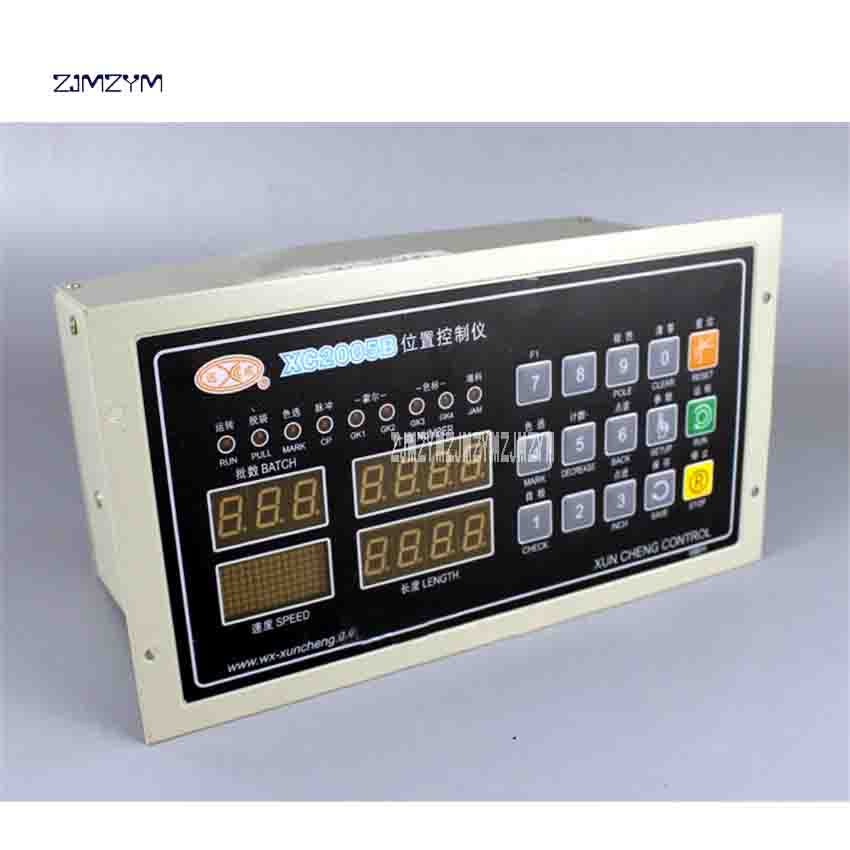 ZJMZYM New High Quality XC2005B Bag-making Machine Dual Channel Position Controller 220v (AC) 50HZ/60HZ 200-12500HZ LCD128 * 64 цена