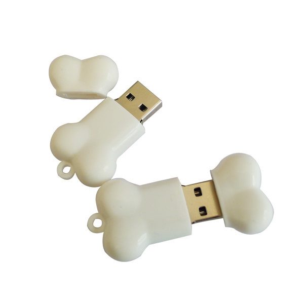 animal Dog bone usb memory u disk new style cartoon pendrive Usb2.0 usb flash drive pen drive 64gb for small business