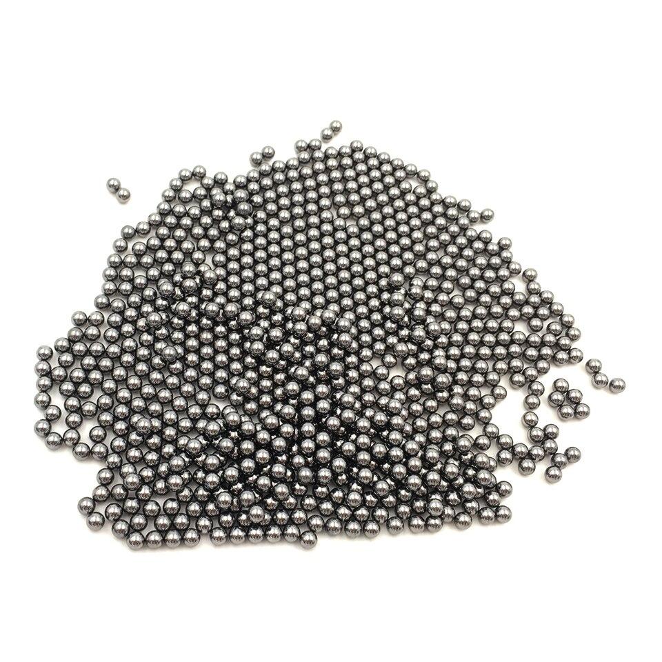 GOXAWEE Polieren Runde Perlen Carbon Stahl Perlen 500g Für Polieren Rotary Tumbler Polieren Werkzeuge 1,5/2,0/3,0 /4,0/5,0/6,0mm