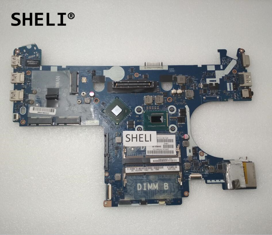 SHELI LA-7731P CN-05CDR9 CN-039GJ4 For DELL E6230 Motherboard with <font><b>I5</b></font>-<font><b>3320M</b></font> cpu image
