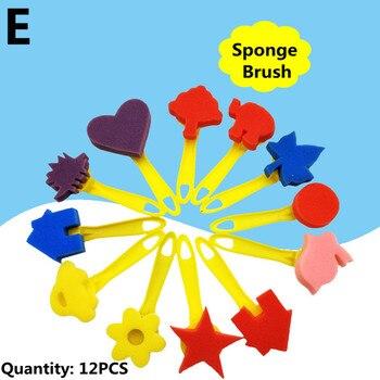 Ζωγραφική Εκπαιδευτικό Παιχνίδι Για Παιδιά diy Γκράφιτι Βούρτσες Σφουγγάρια