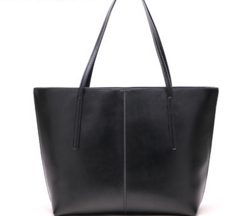 Genuine leather women's shoulder bag soft leather handle bags free shipping