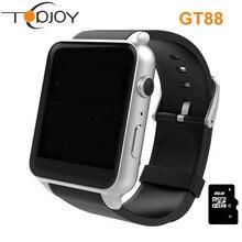 Gt88 smart watch inteligente relogios pedometerสุขภาพm ontreอัตราการเต้นหัวใจซิมการ์ดtfบลูทูธs mart w atchสำหรับios a ndroid p hone