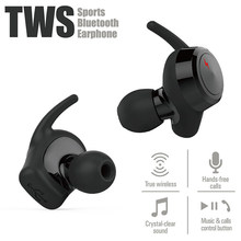 Moxpad M3 True TWS Wireless Bluetooth V4.1 Earphones In Ear Headset Mini TWS Headphones For iphone samsung Stereo Earbuds(China)
