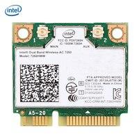 Intel Dual Band Wireless 7260 AC 7260 7260HMW 7260AC 2 4G 5Ghz 802 11ac MINI PCI