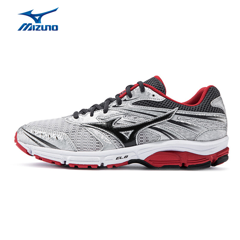 MIZUNO Men WAVE ZEST Jogging Running Shoes Breathable Wearable Sports Shoes Anti-Slip Cushion Sneakers J1GR159833 XYP594 кроссовки mizuno wave precision 13