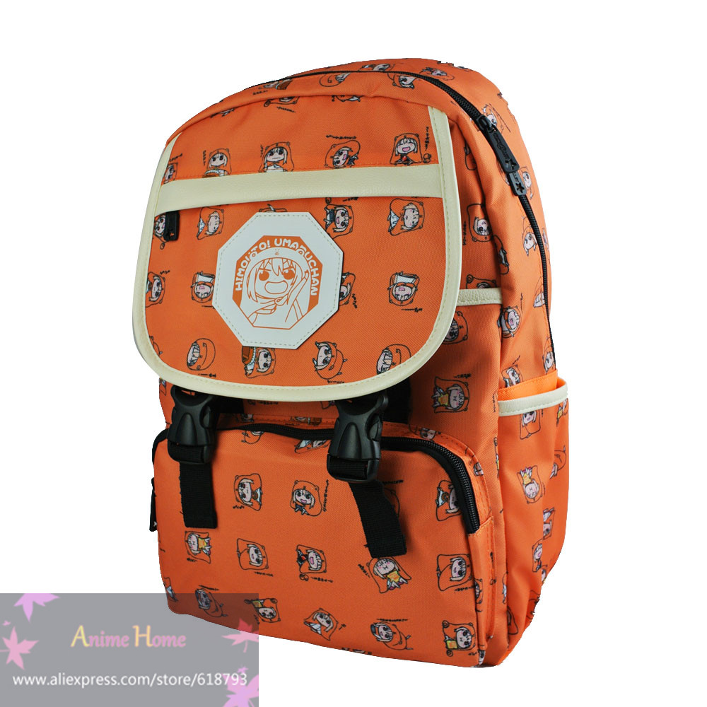 Himouto! Umaru-chan Anime backpack student cartoon UMR cute school bags daily travel bag gift for children AB603