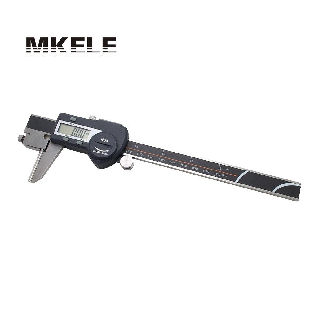цена на 0-150mm Tube Thickness Digital Vernier Caliper r IP54 Waterproof High-Accuracy Digital Micrometer Free Shipping