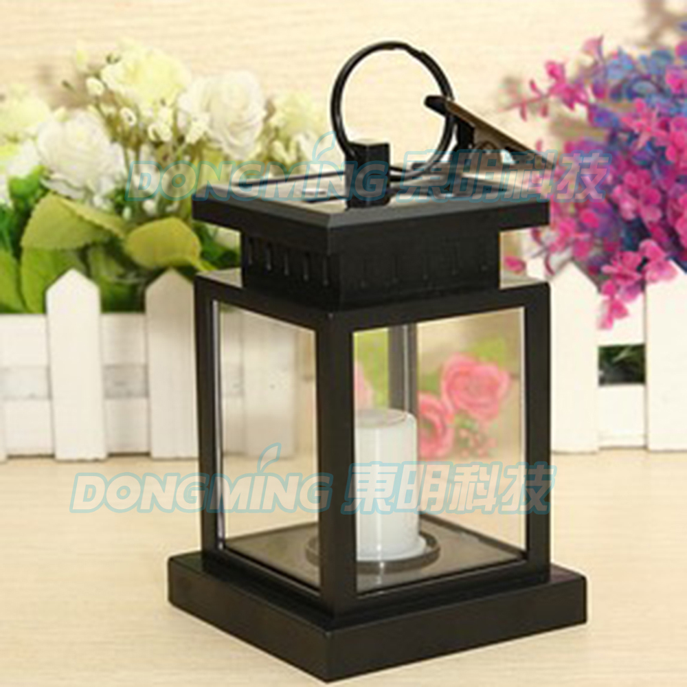 Solar Garden Light Lantern: Vintage Outdoor Led Solar Light Waterproof Umbrella Yard