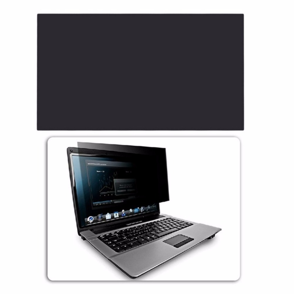 Professional 17 Inch Privacy Filter Anti Peeping Screens Protective Film 383mmx215.43mm Anti Radiation For 16:9 Laptop