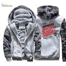 Breaking Bad Hoodie Men BETTER CALL SAUL Hooded Sweatshirt Heisenberg Los Pollos Hermanos Coat Winter Thick Fleece Warm Jacket