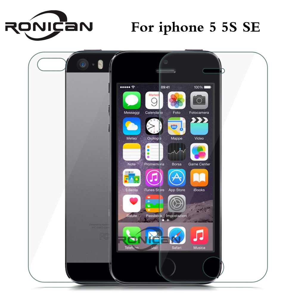 Aliexpress.com : Buy 2pcs/lot Front and BackTempered Glass