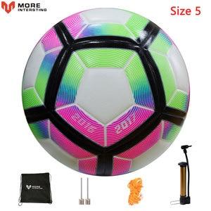 Image 5 - Мяч футбольный, бесшовный футбольный мяч, российский профессиональный размер 4, 5, футбольной премьер лиги, из искусственной кожи, для тренировок
