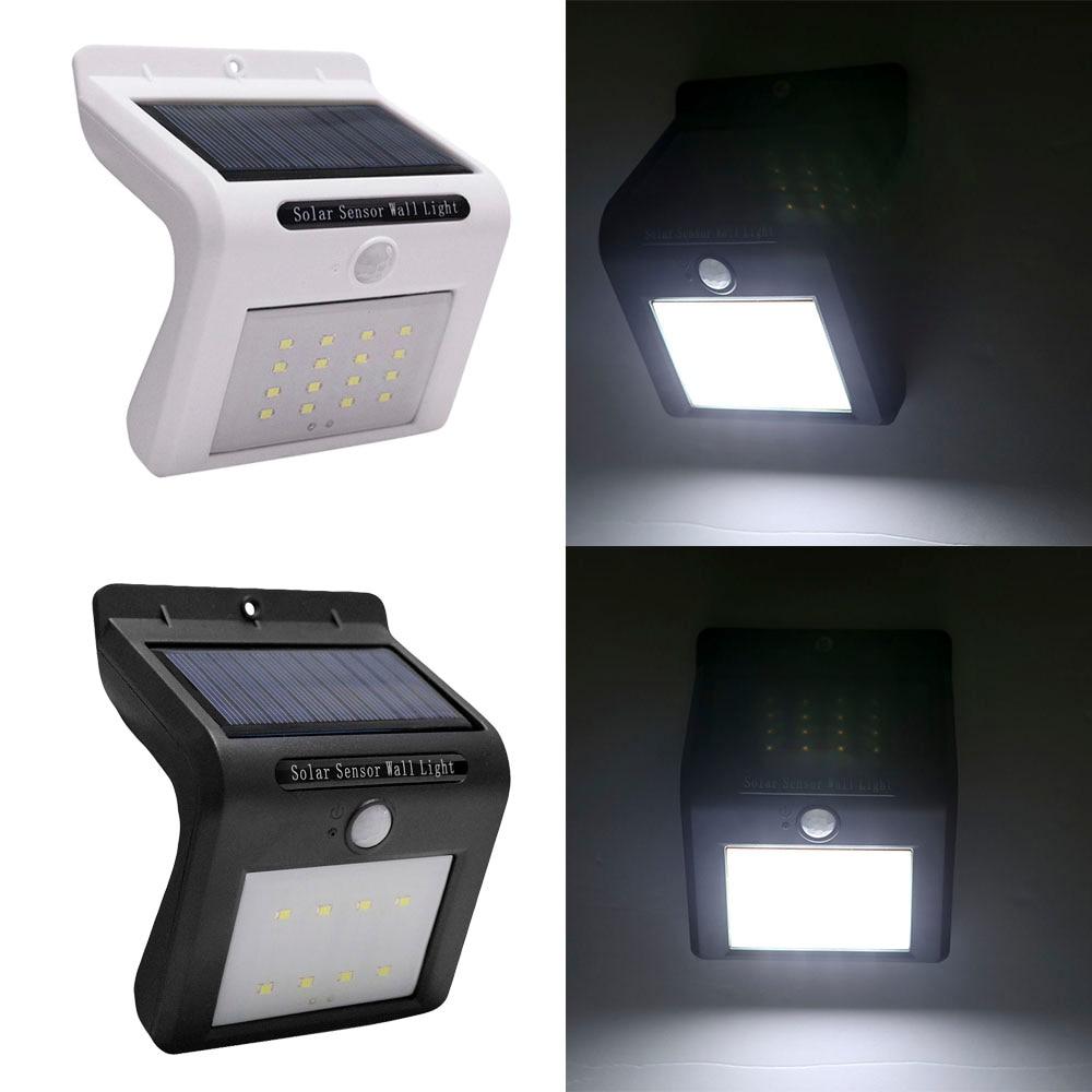 LED Solar Lamp Solar Garden Light Motion Sensor Waterproof Outdoor Lighting Decoration Street Lights Security Wall Lamp бернард маламуд идиоты первыми