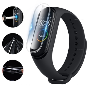 Image 4 - 3PCS/Lot Full Cover Screen Protector Film For Xiaomi Mi Band 4 Bnad4 Smart Bracelet Cover Film For Mi Band 4 Band4 Accessories