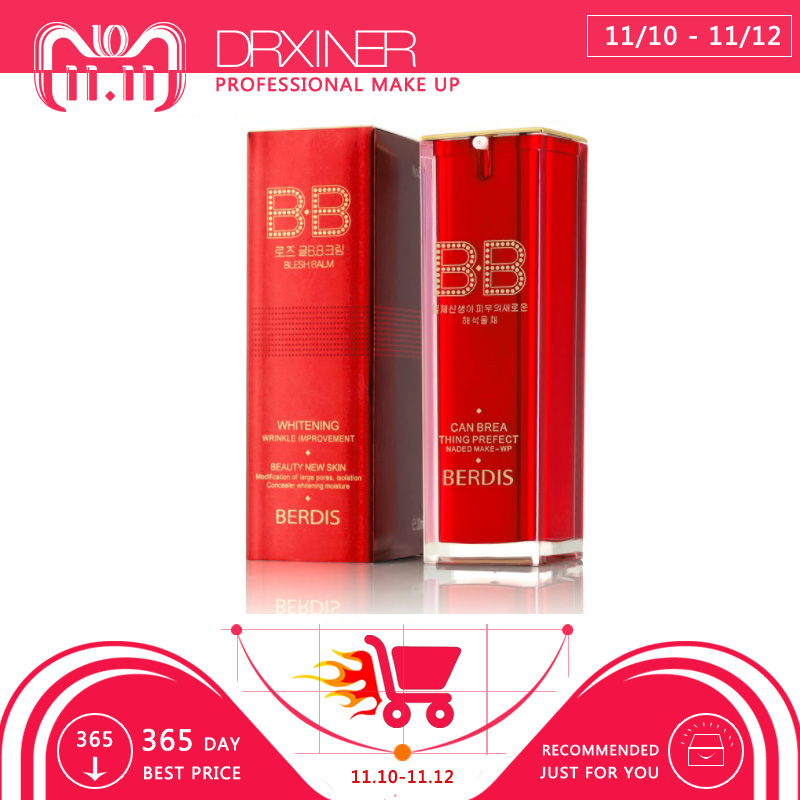 Berdis bb cream primer korean cosmetics naked makeup Perfect Cover Blemish Balm Moisturizing BB Cream цены