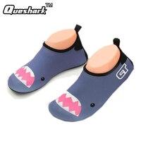 Minions Sponge Bob Children Swimming Fins Diving Socks Non Slip Seaside Beach Shoes Snorkeling Boots Wetsuit