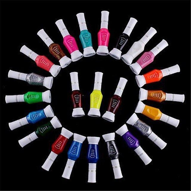 ViewS@  24 Colors Two Way Nail Art Polish Brush & Pen