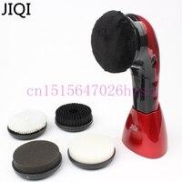 Household Shoe Polisher Electric Mini Hand Held Portable Leather Polishing Equipment Device Automatic Clean Machine