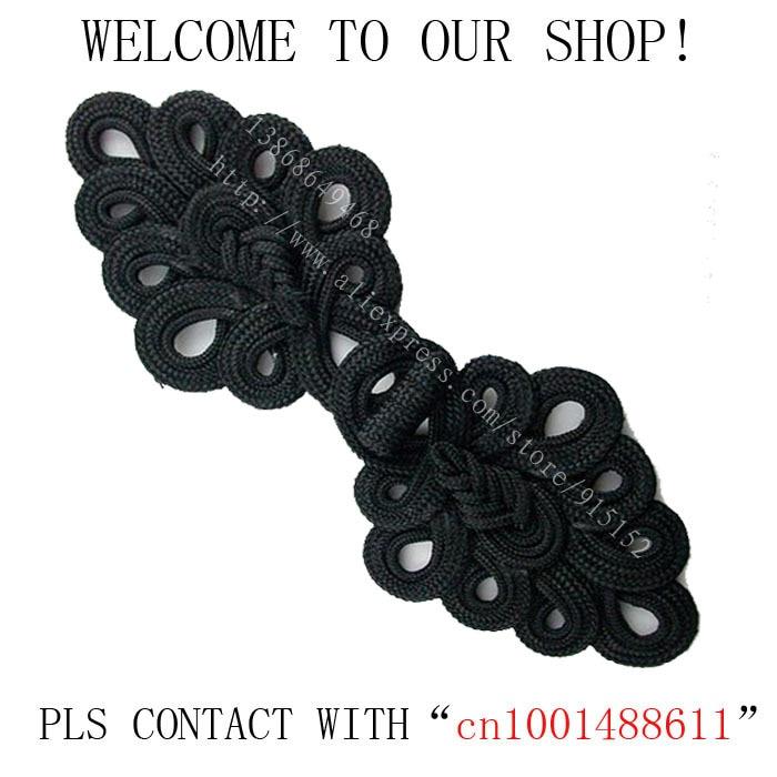 Gratis verzending Tas zwart China knoop 20-23cm 5 stuks Grote - Kunsten, ambachten en naaien