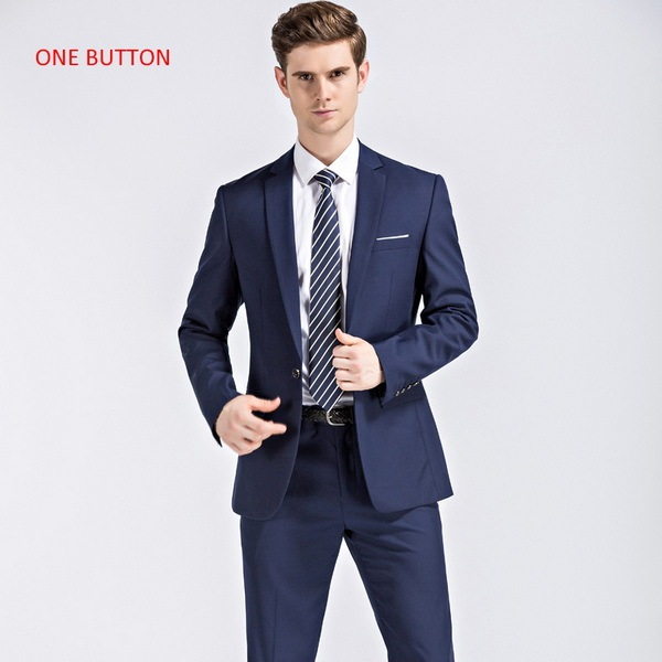 blue with 1 button