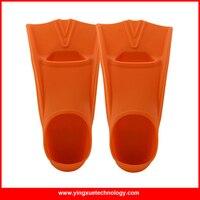 ที่มีคุณภาพสูงซิลิโคนครีบว่ายน้ำครีบว่ายน้ำจัดส่งฟรีขนาดM 36-38