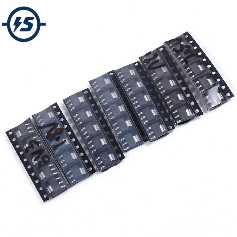 Stabilizer 35pcs/lot 7Kinds Each 5pcs AMS1117-1.2V/1.5V/1.8V/2.5V/3.3V/5.0V/ADJ Voltage Regulator Tube Voltage Pack Assorted Kit